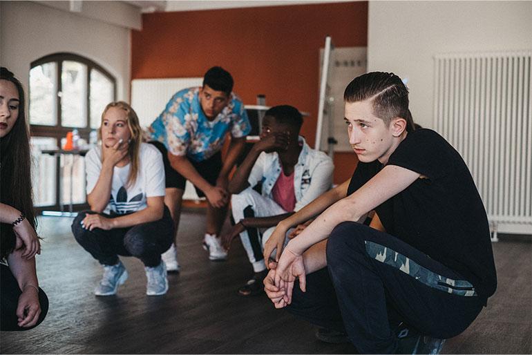 HERO_SOCIETY-Teengruppe